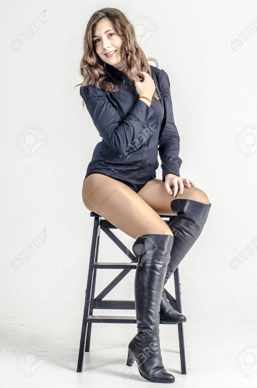 girls in high boots