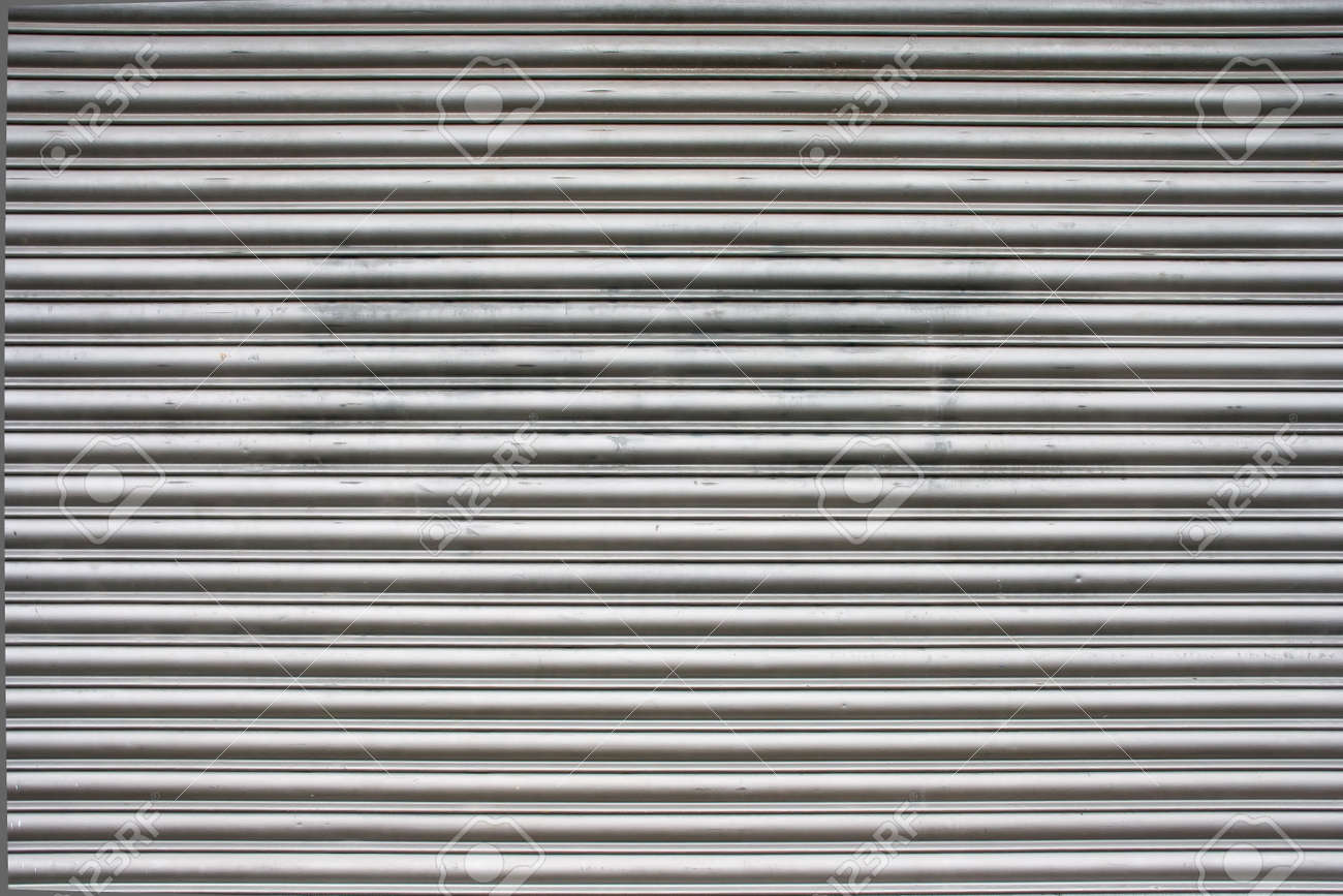 Steel Garage Door Texture steel garage door texture or background stock photo, picture and