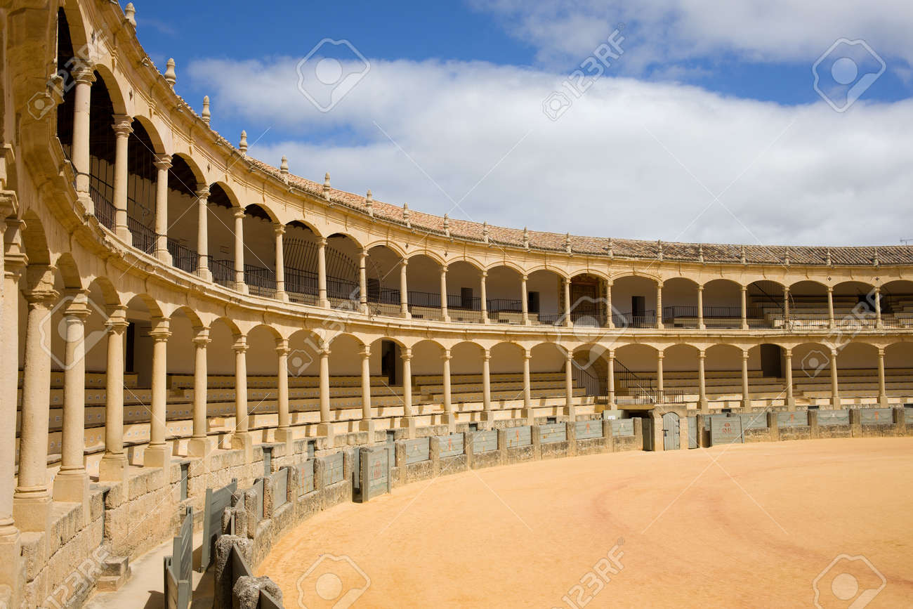 Bullring in Ronda, opened in 1785, one of the oldest and most