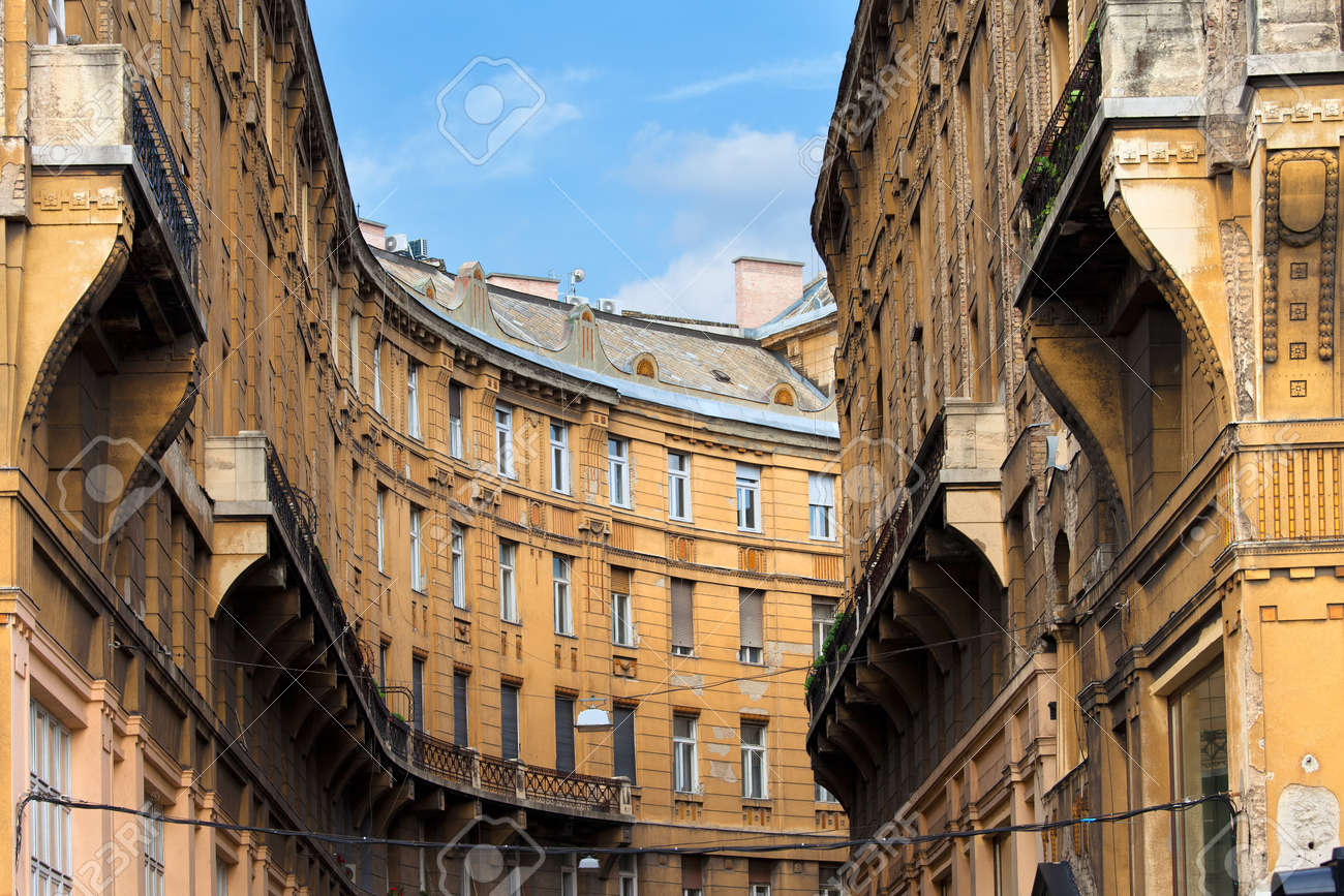 Curved Architecture Curved Shape Of A Historic Apartment Building Residential