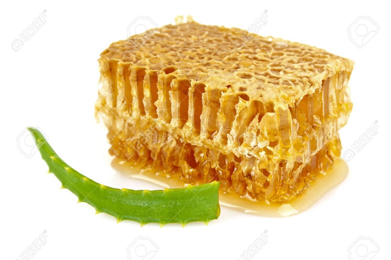 Aloe and honeycomb Stock Photo - 11702189