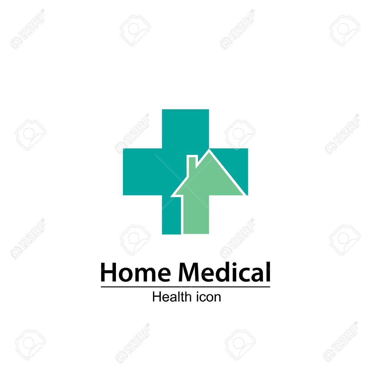 Medical Icon Design, Vector Illustration. Nursing Home.Home Medical ...