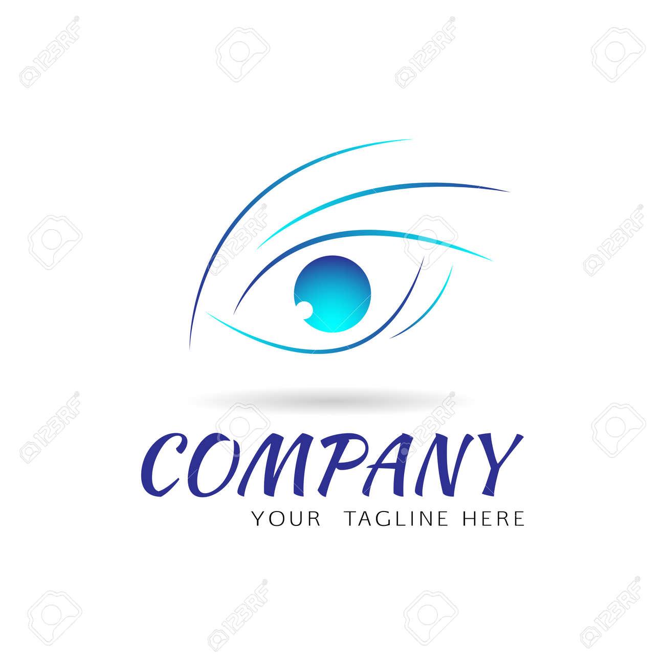La Visión Del Vector Plantilla De Diseño Del Logotipo Del Ojo ...