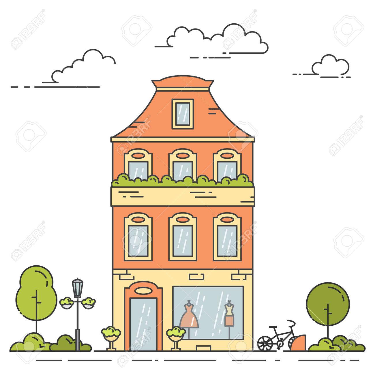 Retro City Line House