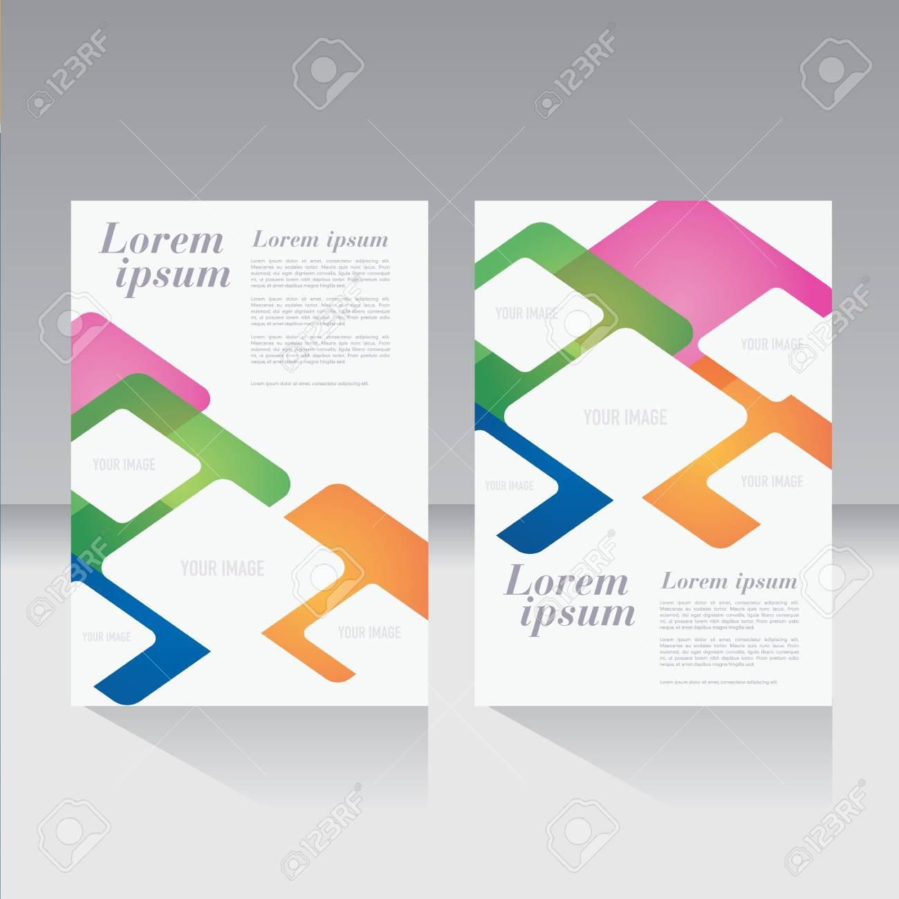 Portada De La Revista, Folleto, Volante, Plantilla De Diseño De ...