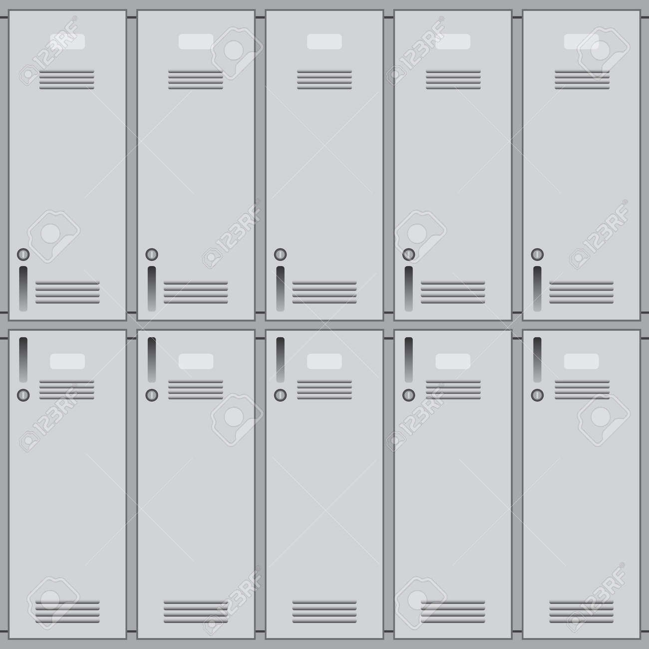 Private School Lockers Or Gym Of Metal Background Closeup Stock Photo Picture And Royalty Free Image Image 70954633