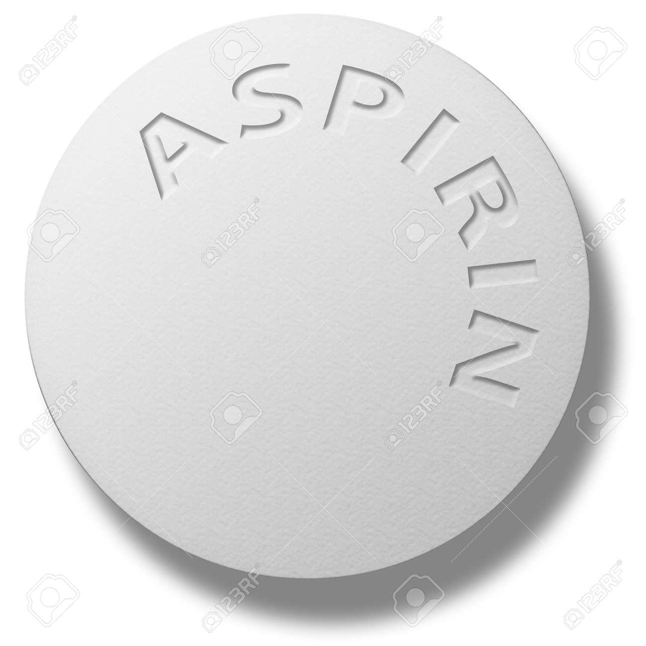 Amount of aspirin in tablet?