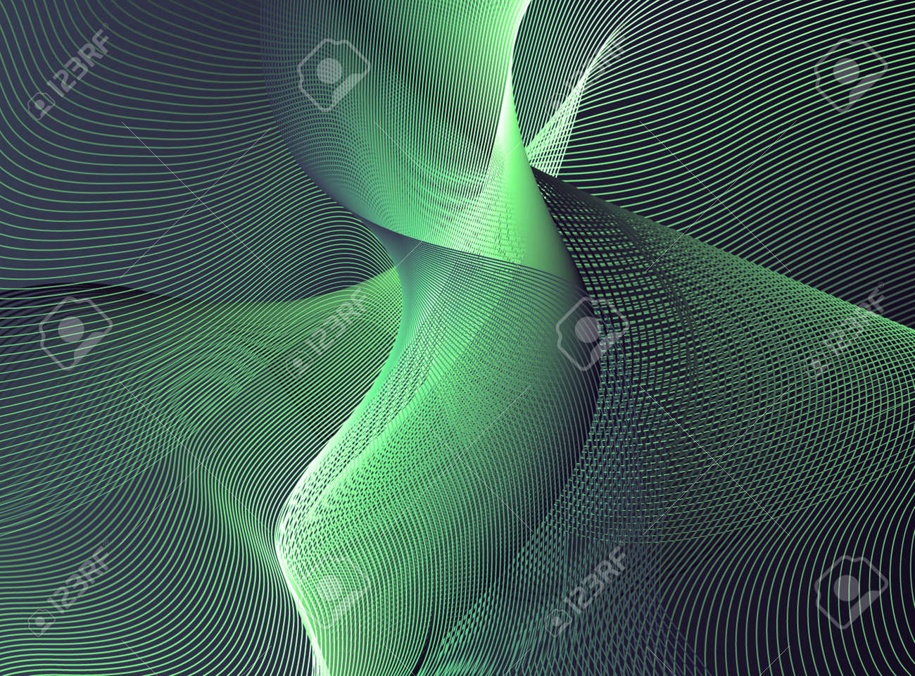 Green abstract Stock Photo - 4139180