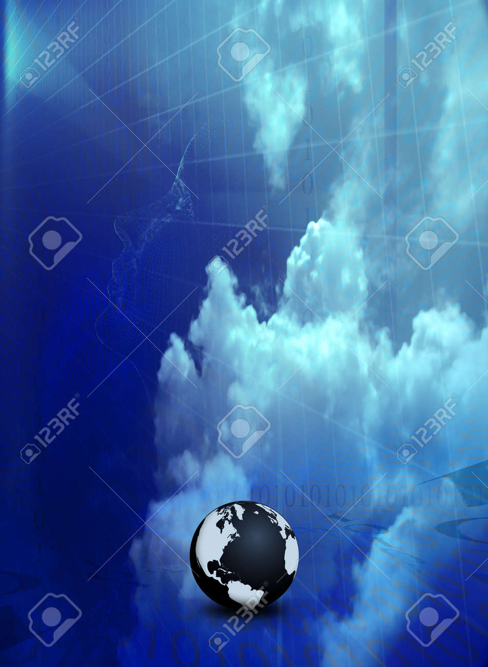 Technology Abstract Stock Photo - 4359823