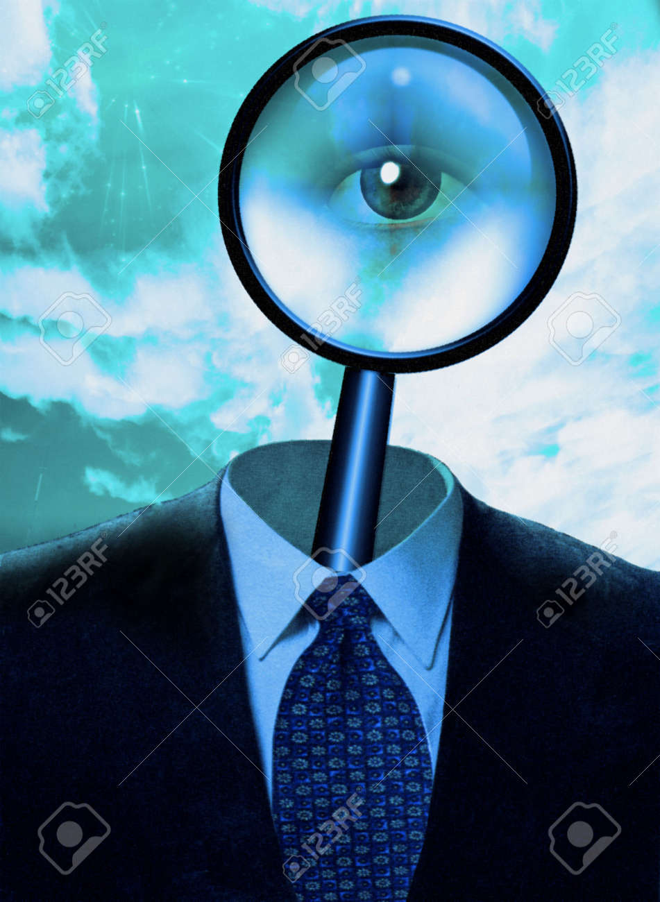 Magnify Mind Stock Photo - 6003334