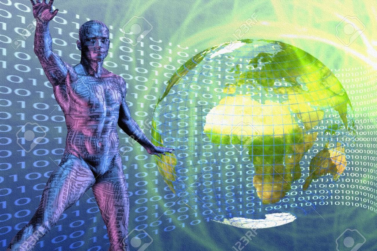 World Digital Stock Photo - 6525249