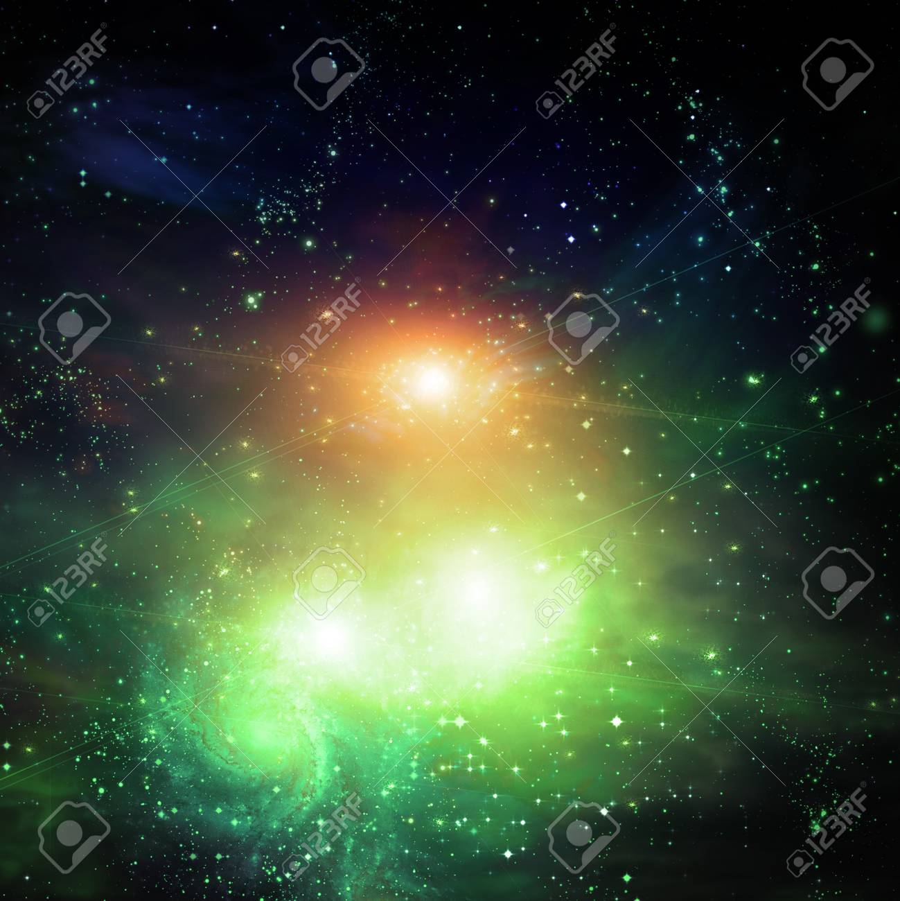 Galactic Space Stock Photo - 7999574