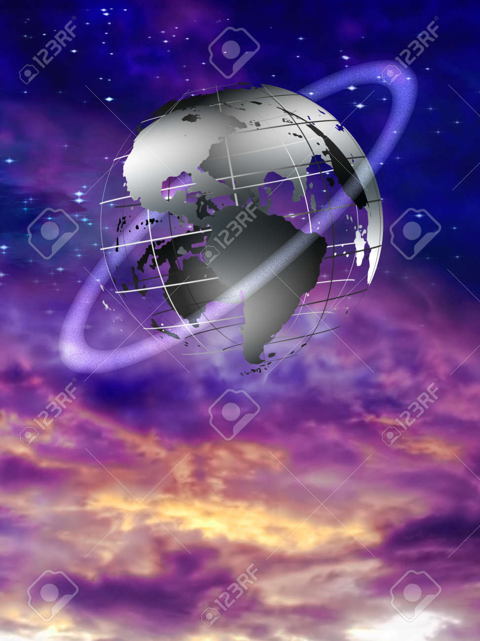 Earth Sphere Stock Photo - 9772089
