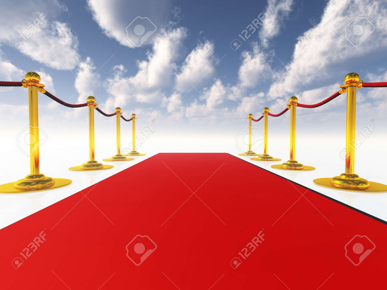 Red Carpet Stock Photo - 10055747