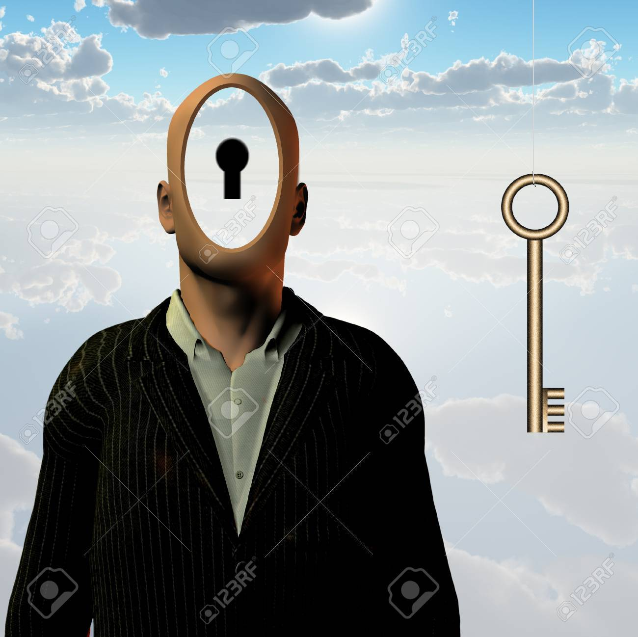 Human Key Stock Photo - 11397738