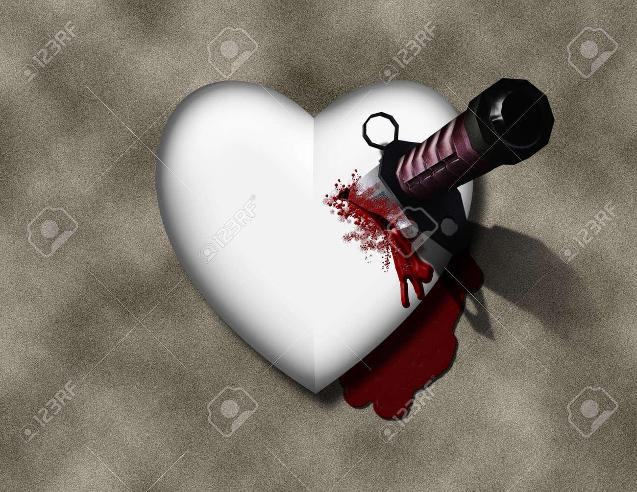 Bleeding heart with bloody knife stock photo picture and royalty bleeding heart with bloody knife stock photo 11397831 buycottarizona