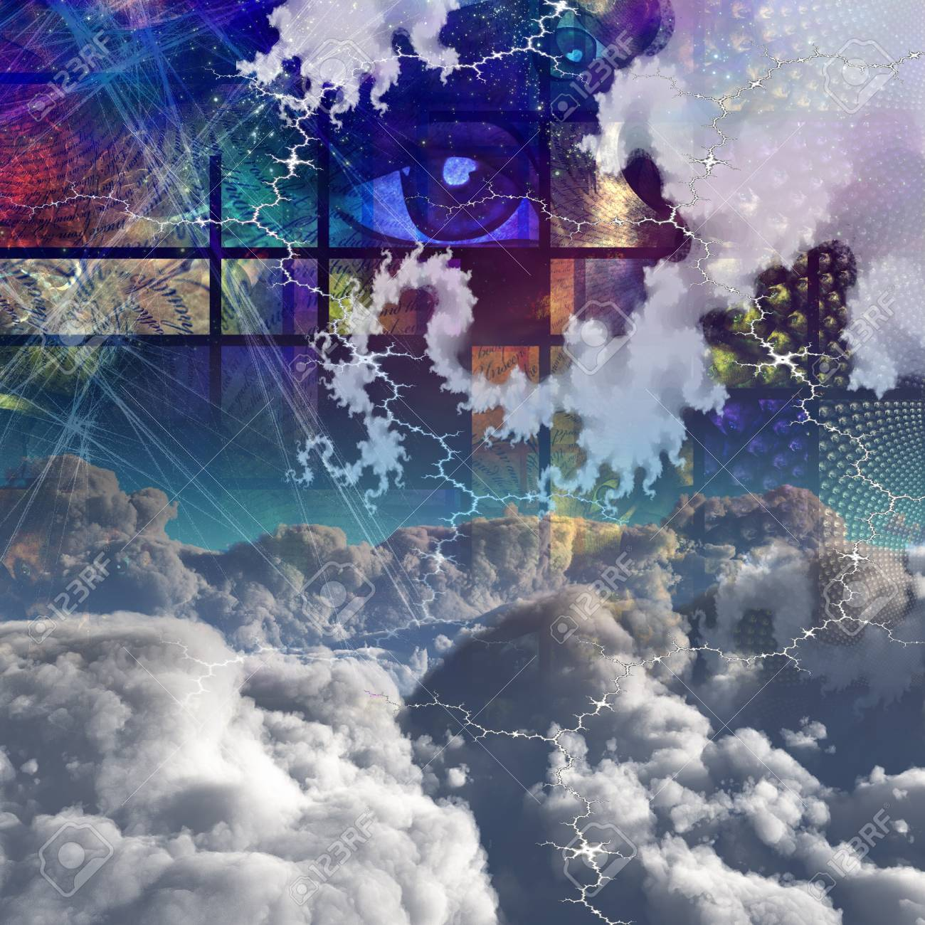 Clouds and abstract Stock Photo - 15488709