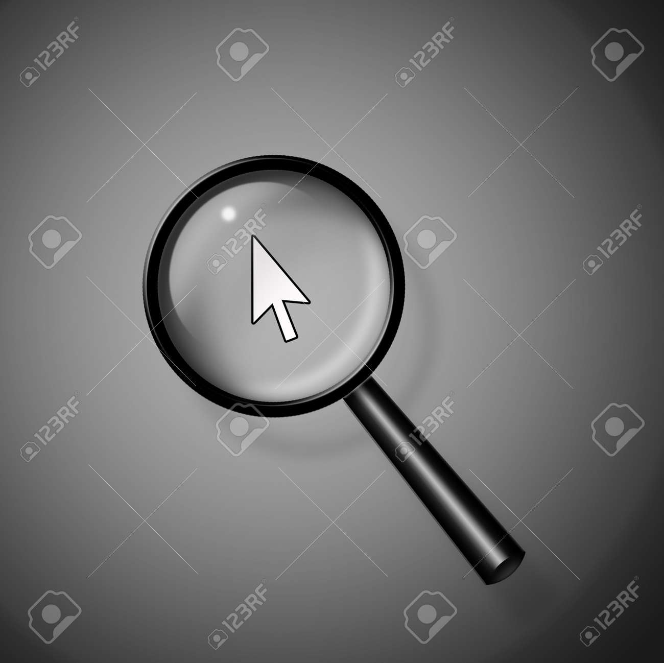 Computer Search Stock Photo - 19122489
