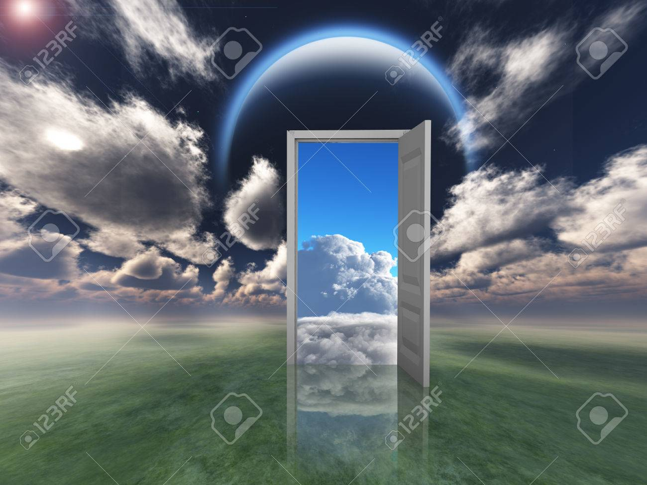 Doorway into other world Stock Photo - 26714211