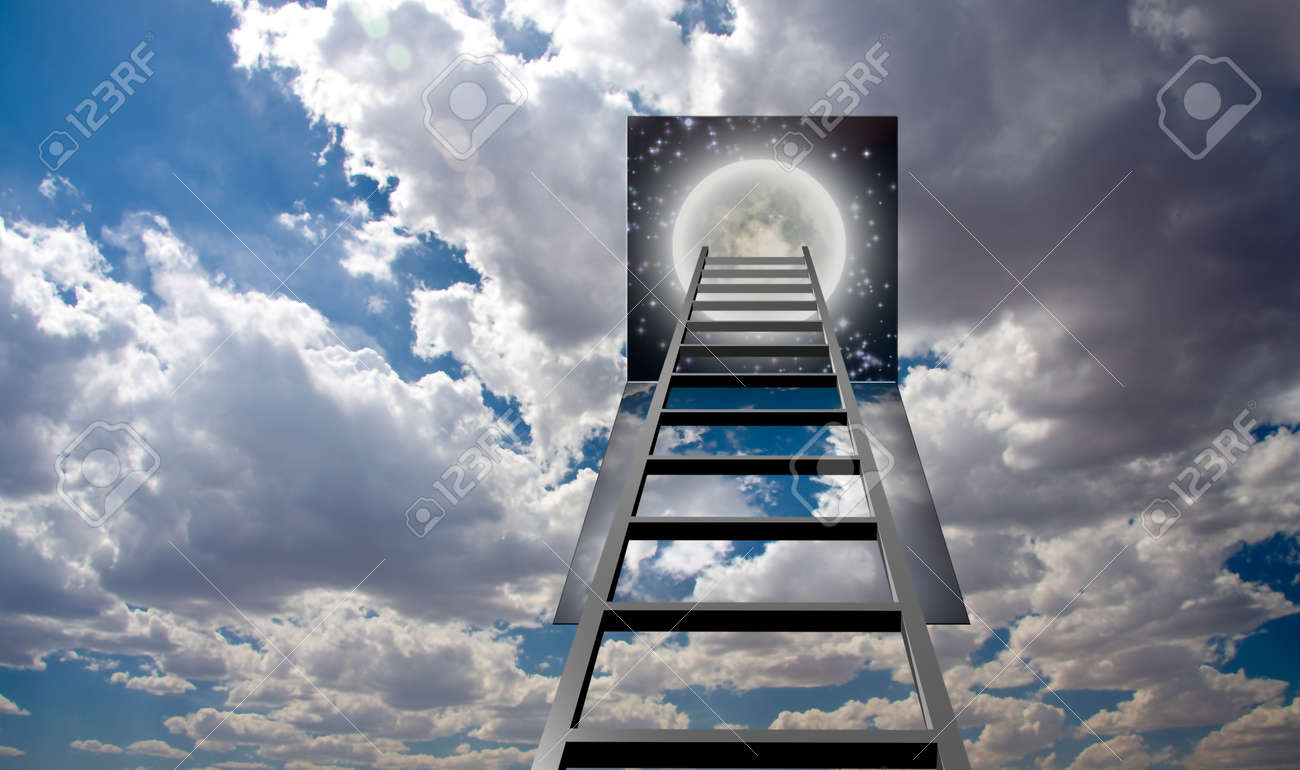 http://previews.123rf.com/images/rolffimages/rolffimages1511/rolffimages151100055/47790864-Ladder-into-hole-in-heaven-Stock-Photo-heaven.jpg
