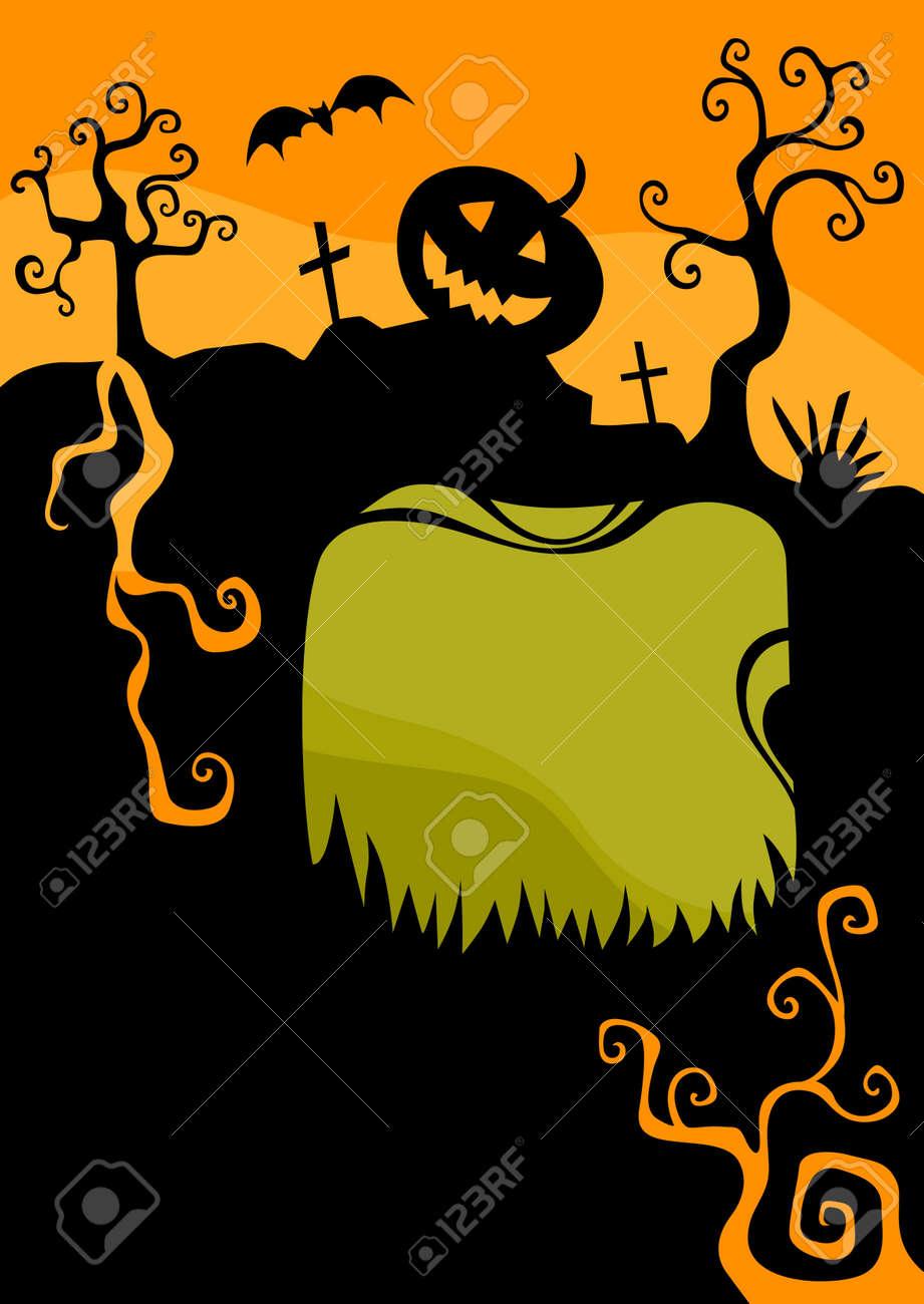 halloween card Stock Vector - 14613268