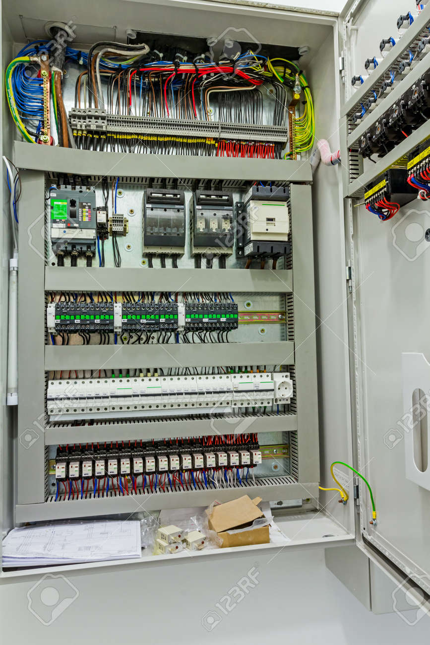 Automatic Programming Relay Has Control Over Electrical Panel ...