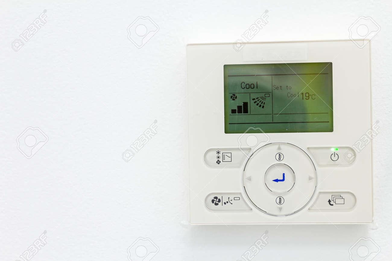 Smart Home Automation Wanddisplay Haushalt Verbräuche Der