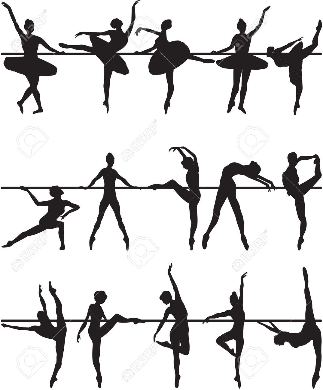 6,678 Ballet Dancer Stock Vector Illustration And Royalty Free ...