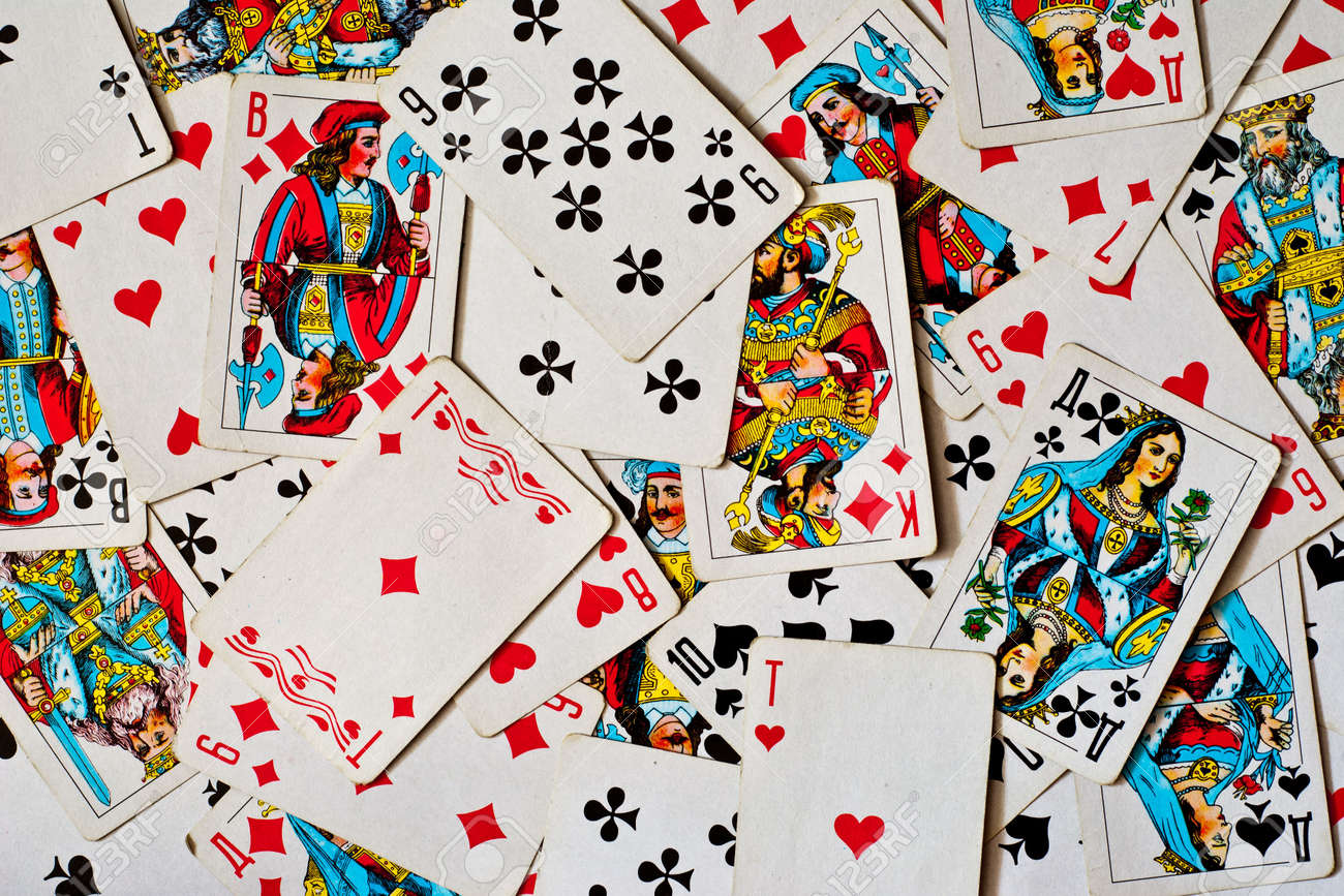 background made of playing cards Stock Photo - 8001180
