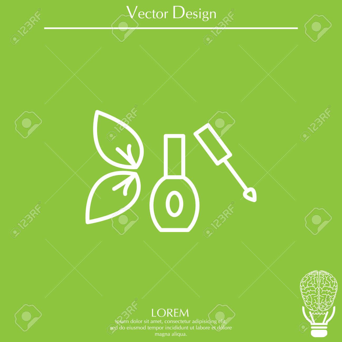 Aislado Esmalte De Uñas Ilustraciones Vectoriales, Clip Art ...