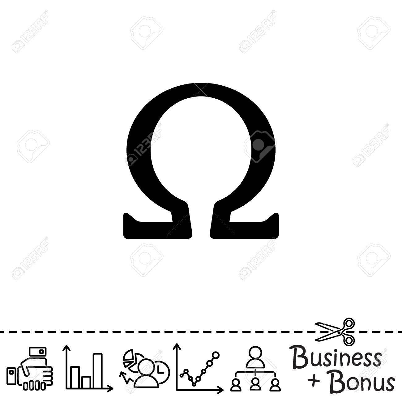 Web icon omega symbol royalty free cliparts vectors and stock omega symbol stock vector 75755254 biocorpaavc Gallery