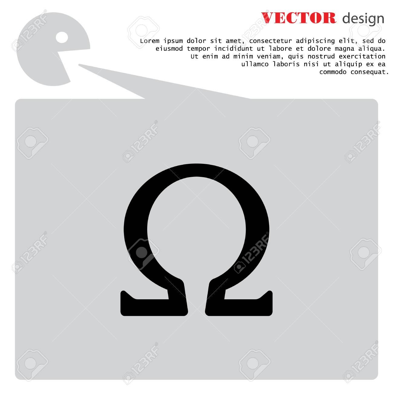 Web icon omega symbol royalty free cliparts vectors and stock omega symbol stock vector 78985986 biocorpaavc Gallery