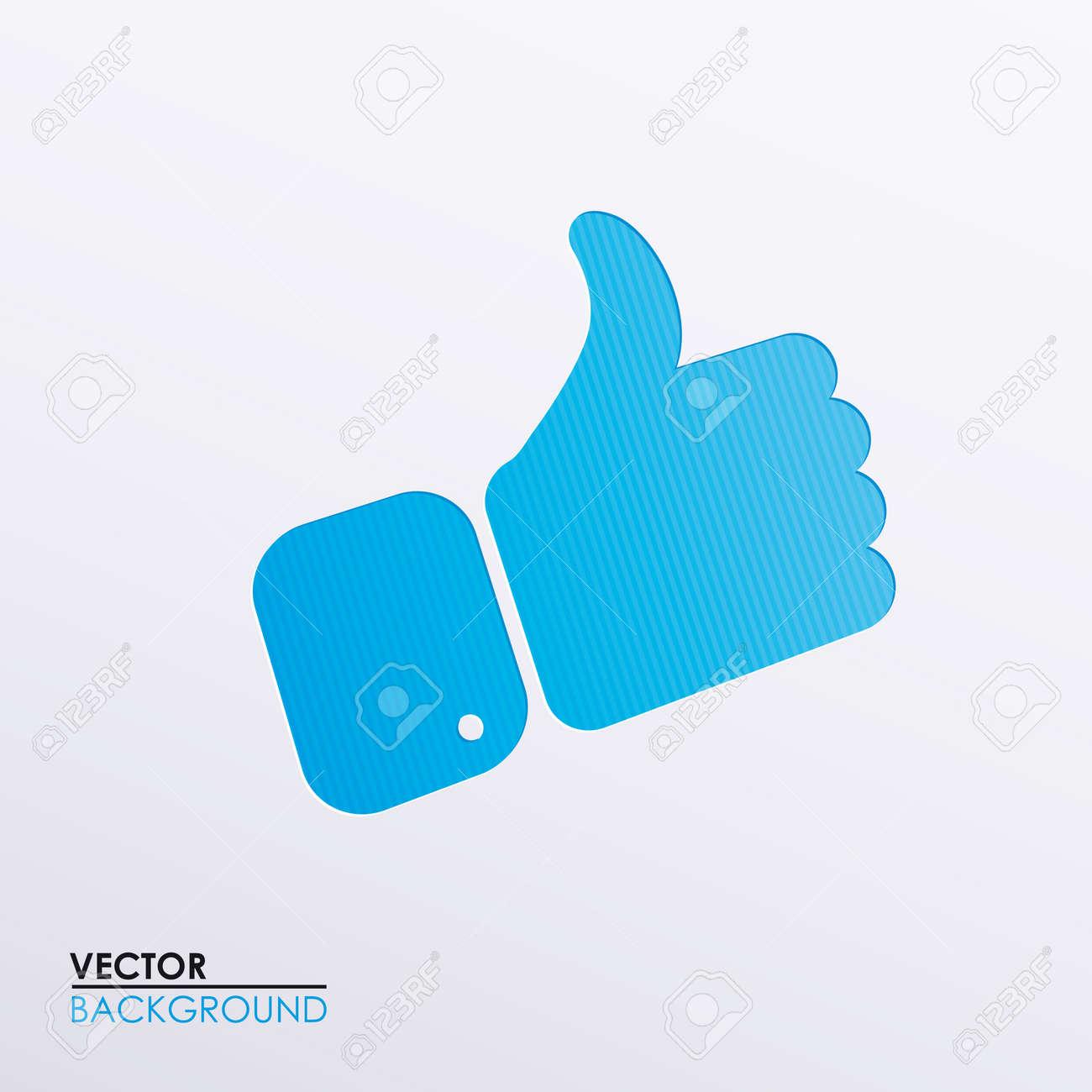 Vector symbolic hand image Stock Vector - 17292423
