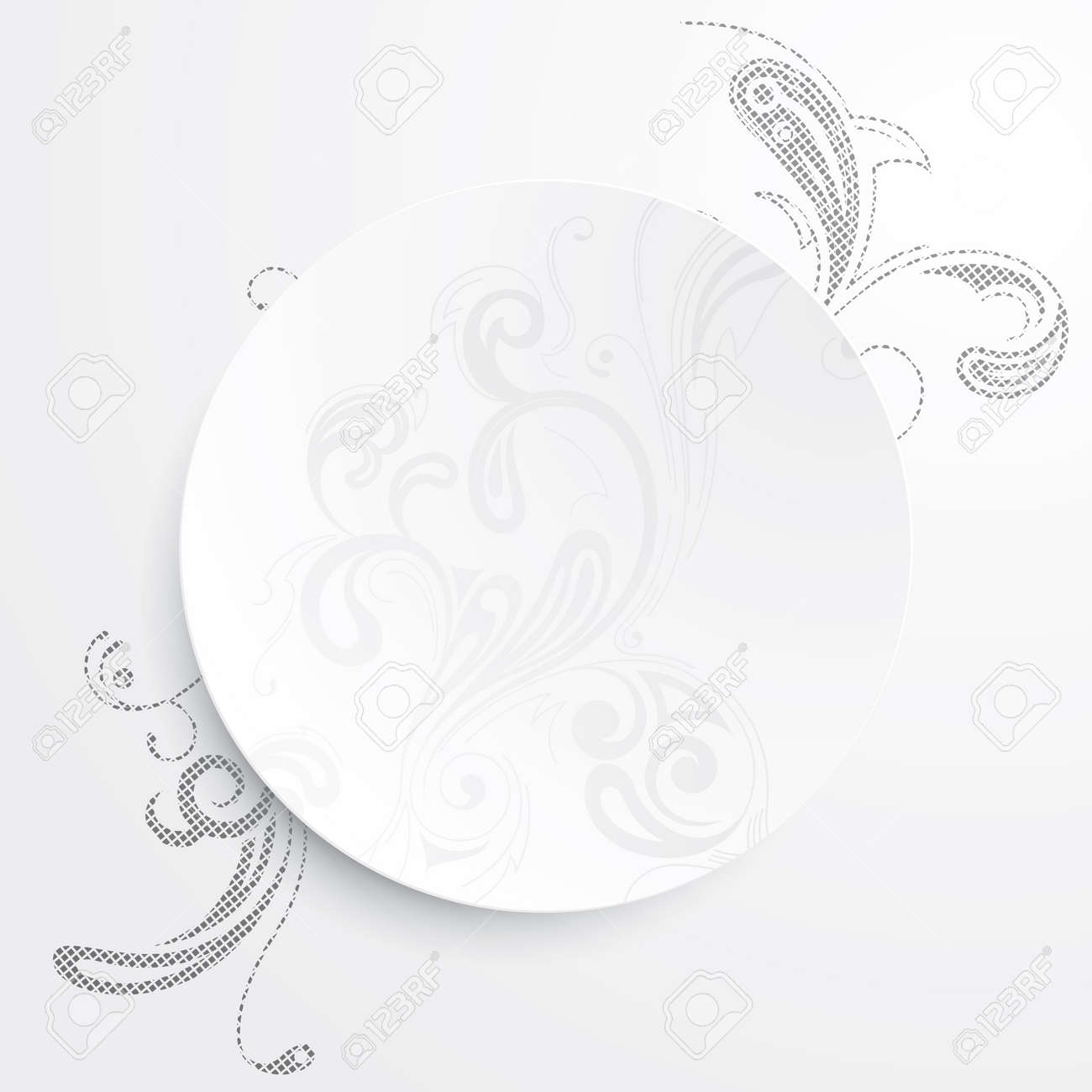Vector illustration of a black and white background Stock Vector - 17697239