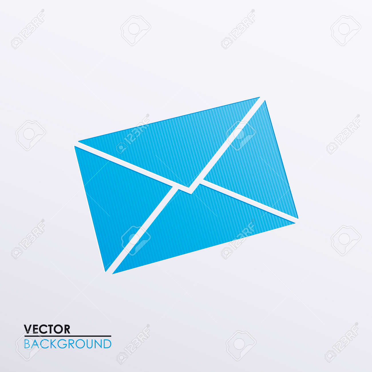 Vector icons envelope Stock Vector - 18064916