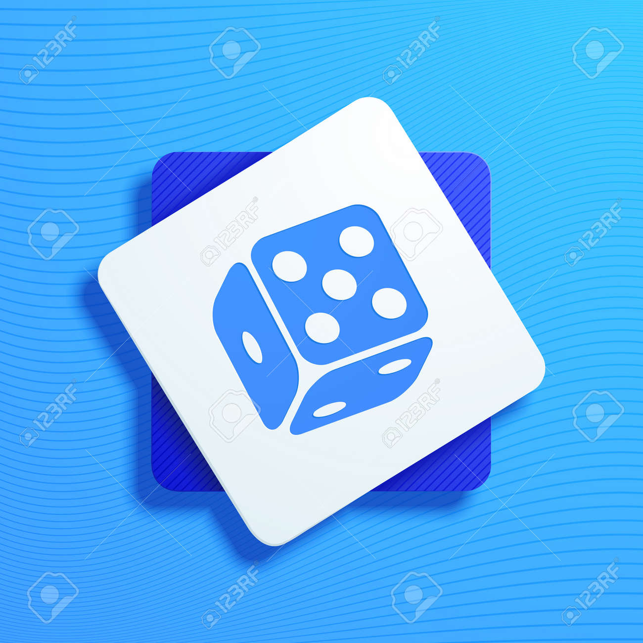 Vector illustration on the theme of gambling Stock Vector - 19353499