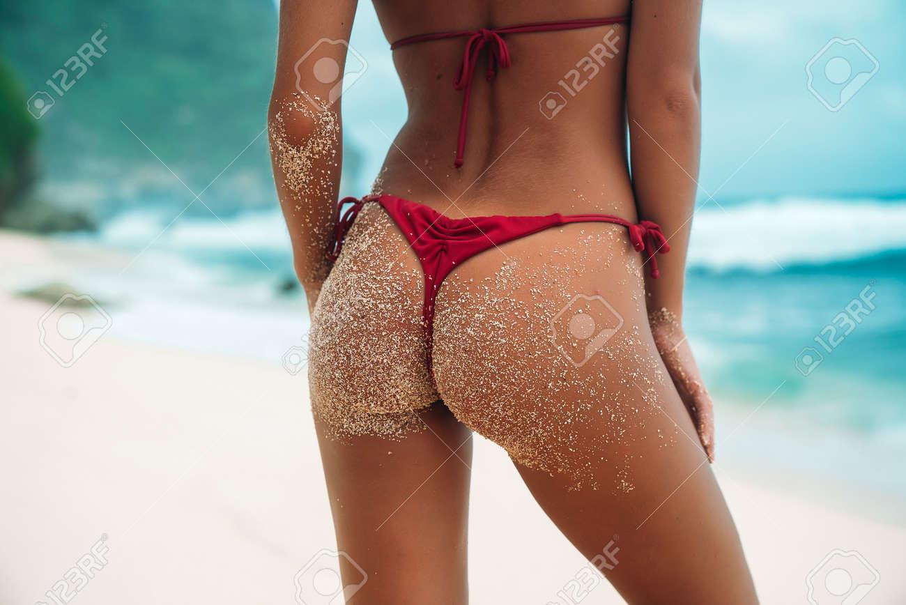 sexy beach ass
