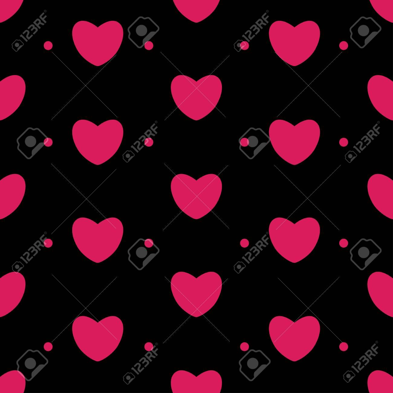 Imagenes de corazones fondo negro