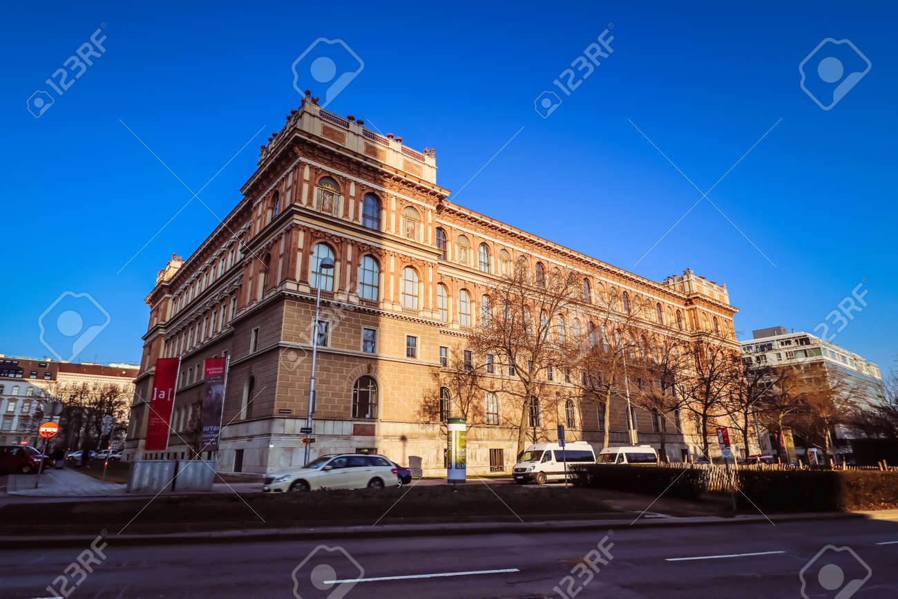 Academy Of Fine Arts Vienna Stock Photo Picture And Royalty Free