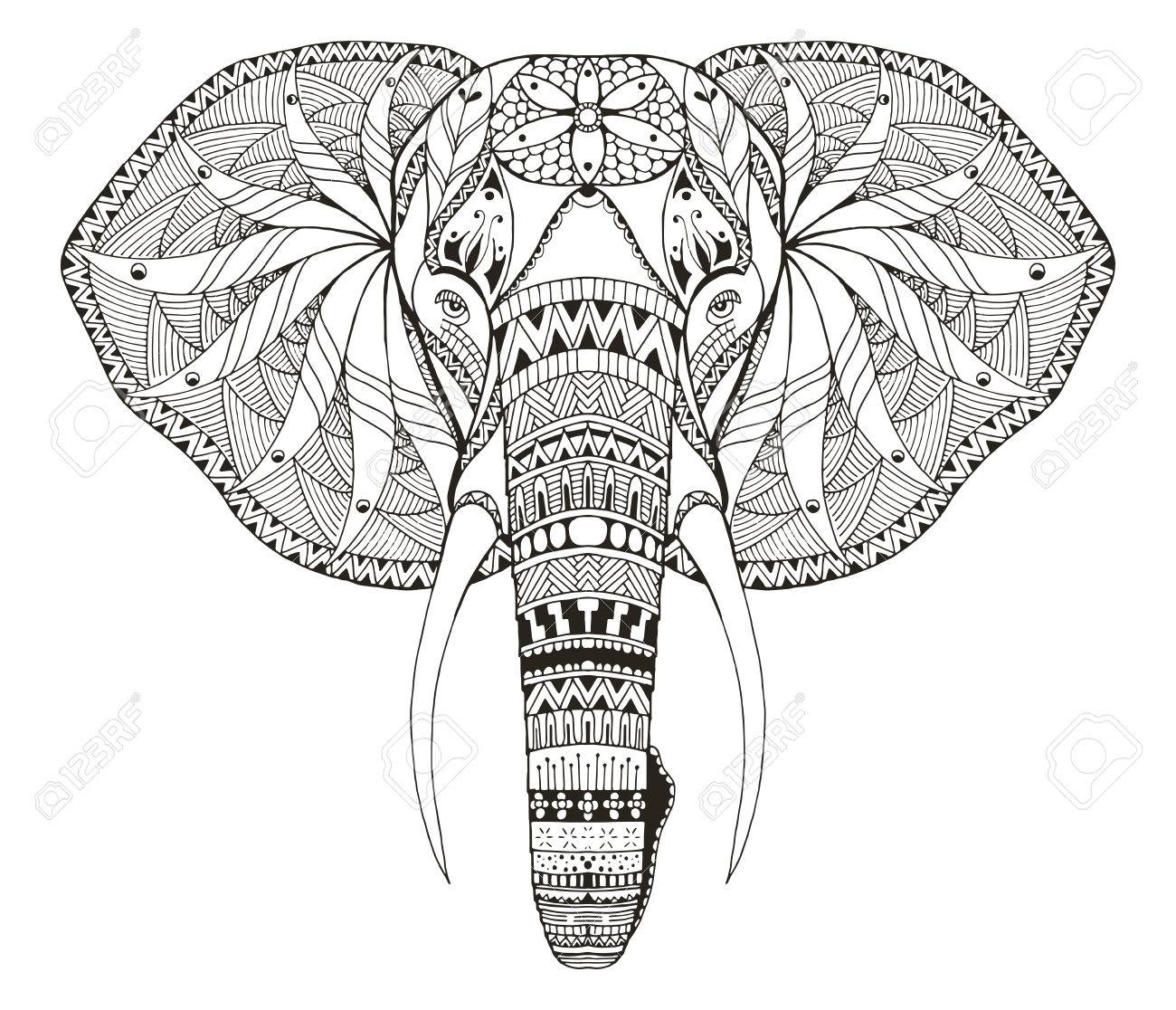 Elephant Clipart Coloring Pencil And old mickey mouse drawings ...