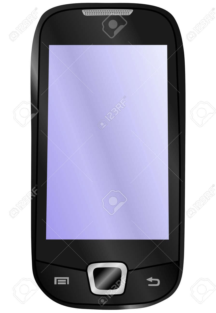 sensory mobile phone Stock Vector - 8796243