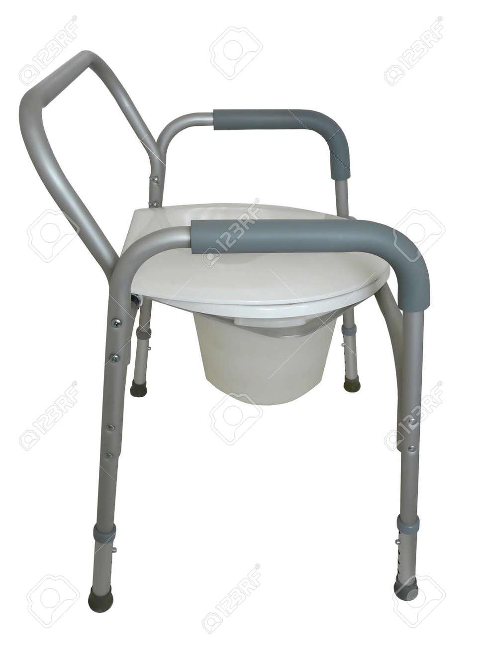 Chaise Perce Pour Tre Utilis Comme Un Sige De Toilette Surlev