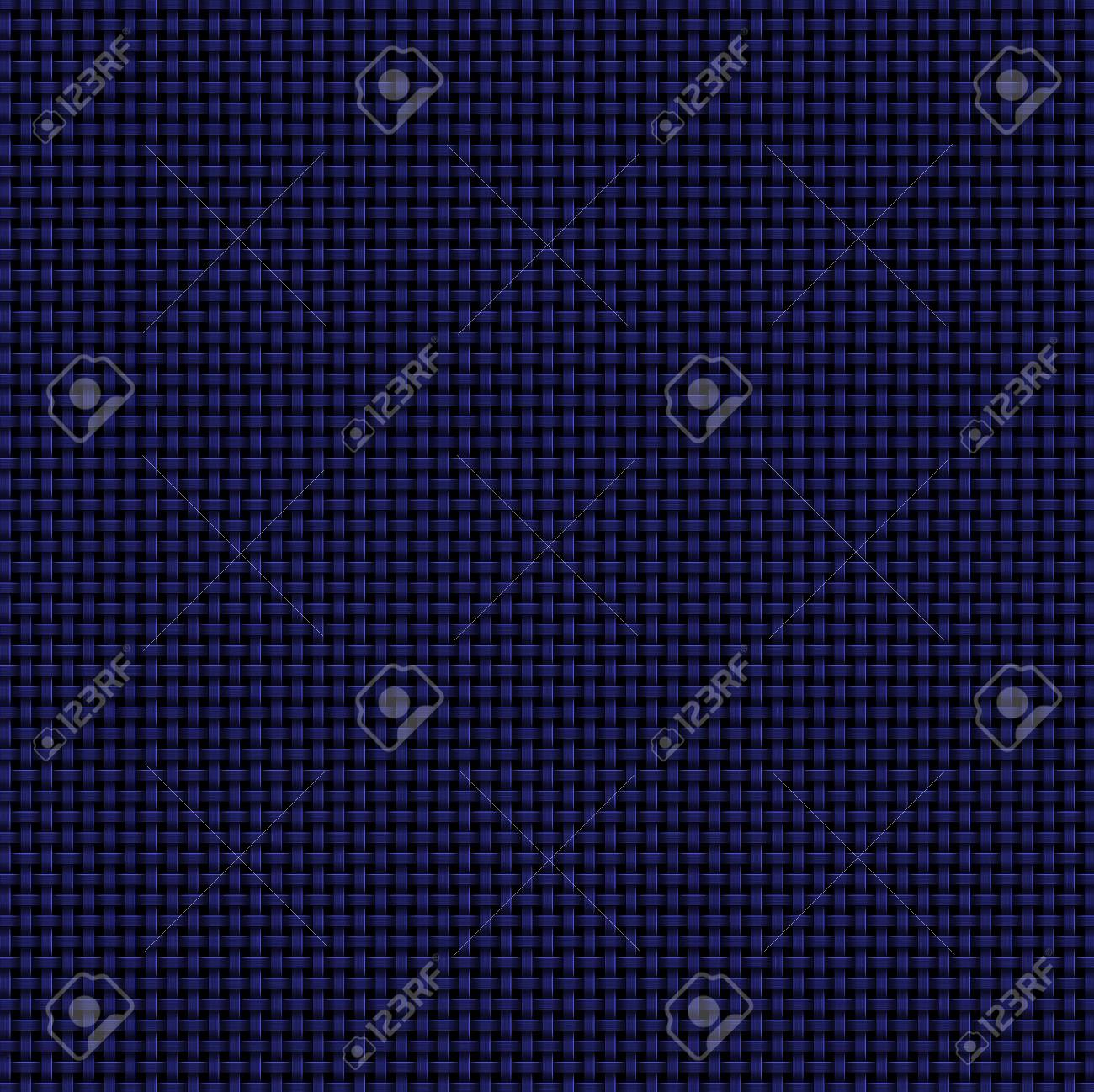 Dark Blue Woven Abstract Background Computer Generated Basket