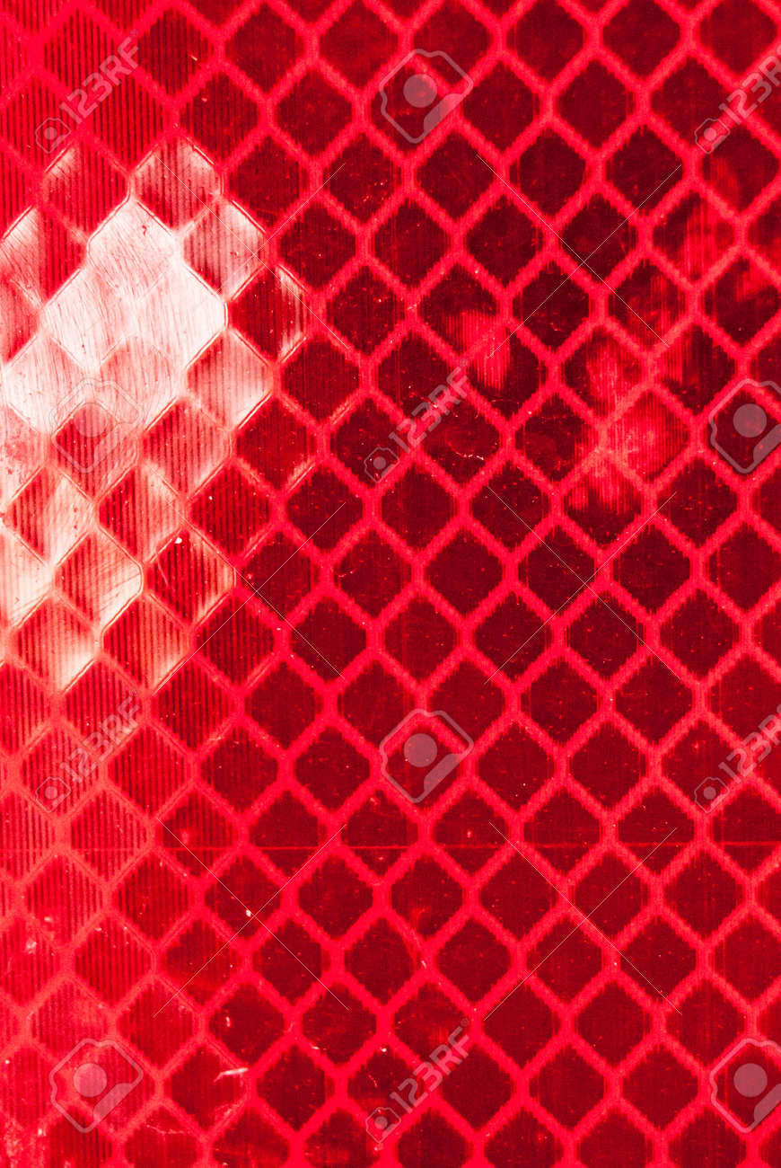 Reflector Texture With Red Diamonds, Abstract Background Stock Photo ... for Reflector Light Texture  585hul