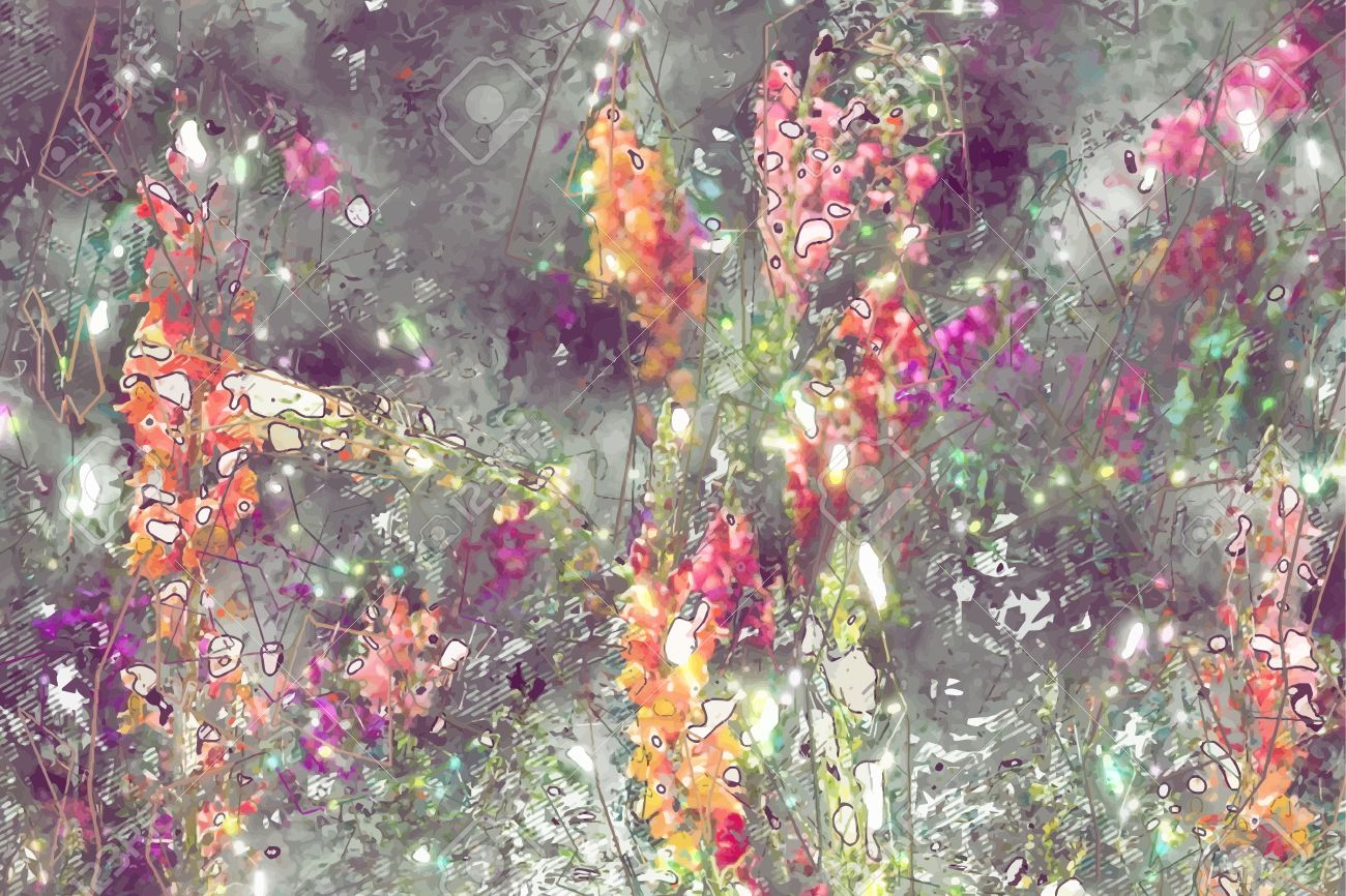 Abstract flower painting grungy background texture for text abstract flower painting grungy background texture for text or website beautiful spring flowers painted izmirmasajfo