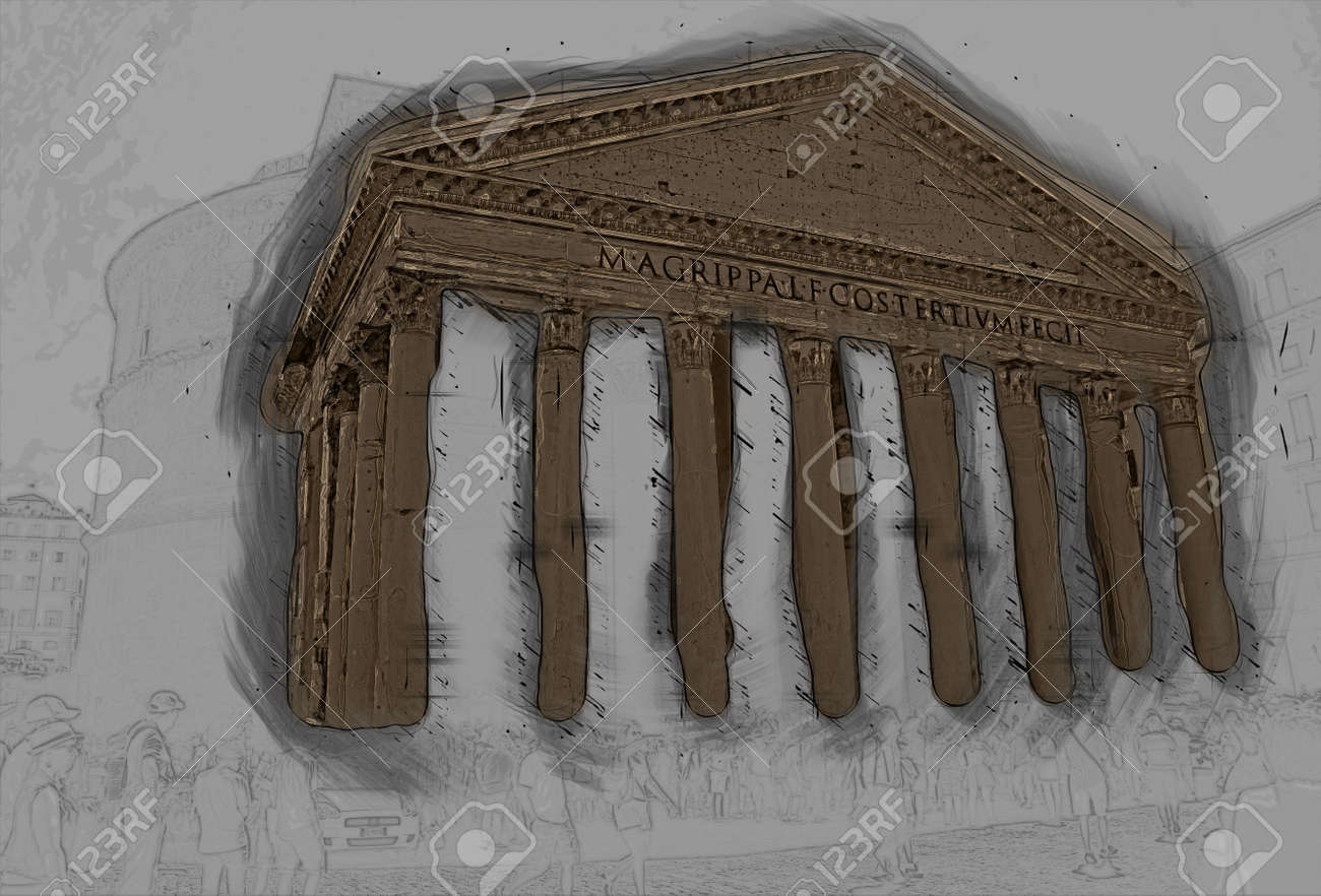 ancient roman architecture dome