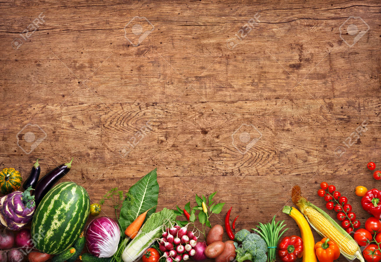 Healthy Food Background Studio Photo Of Different Fruits And Stock Photo Picture And Royalty Free Image Image 54088678