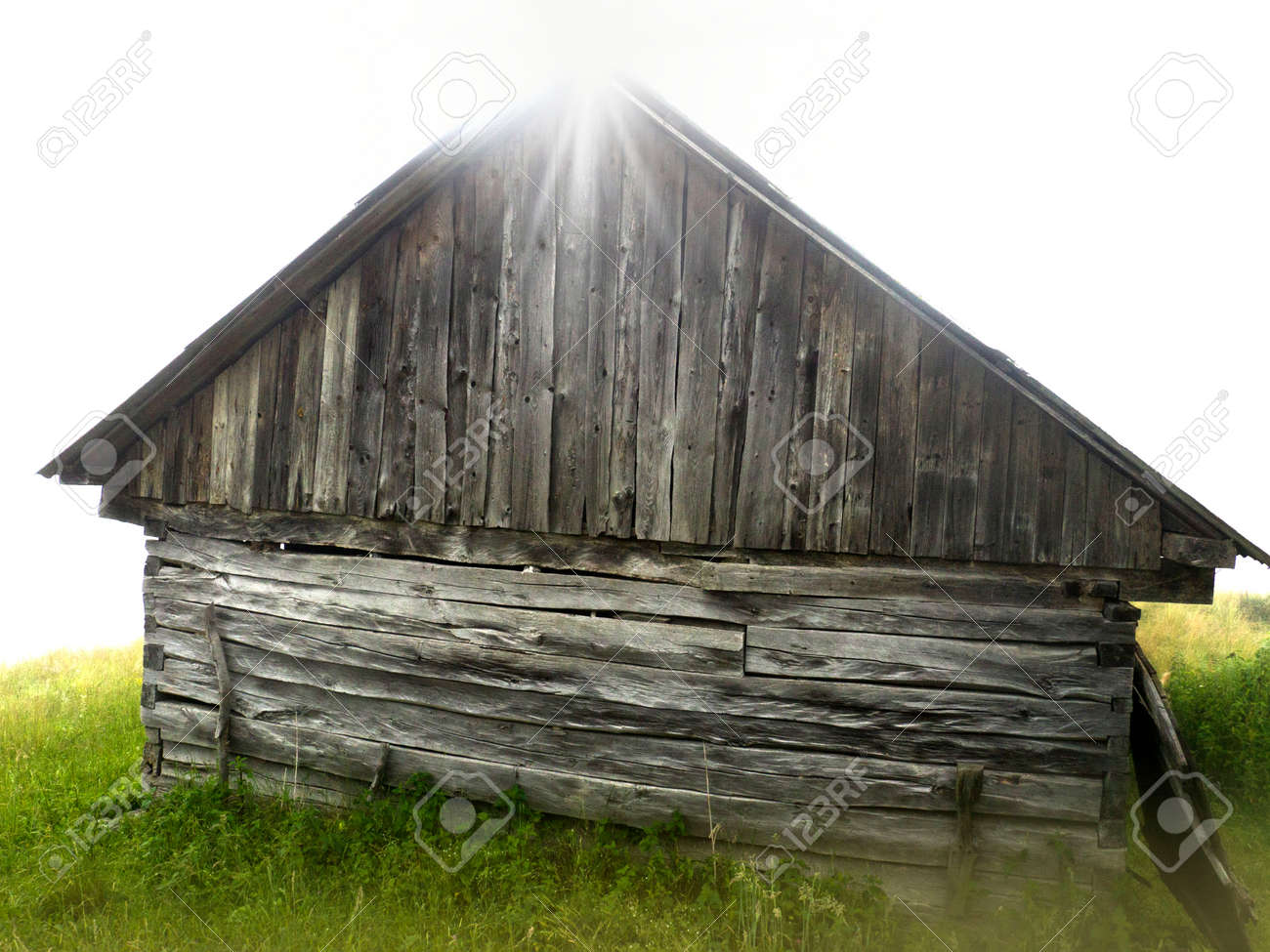 Old Mountain Cabin Stock Photo Picture And Royalty Free Image Image 60256162