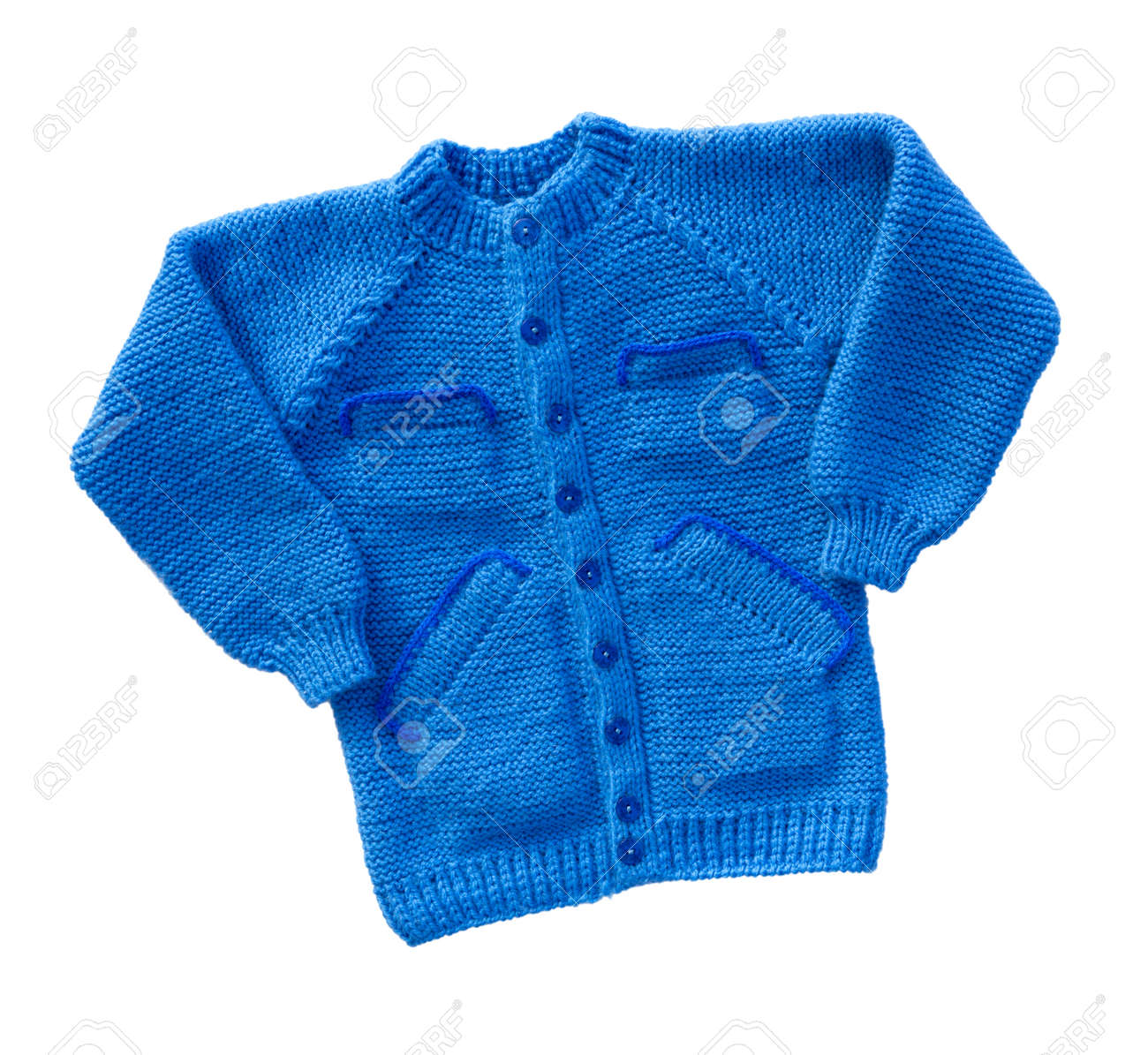 b5d256c182c5 Sweater Isolated On White Background. Children Warm Pullover ...