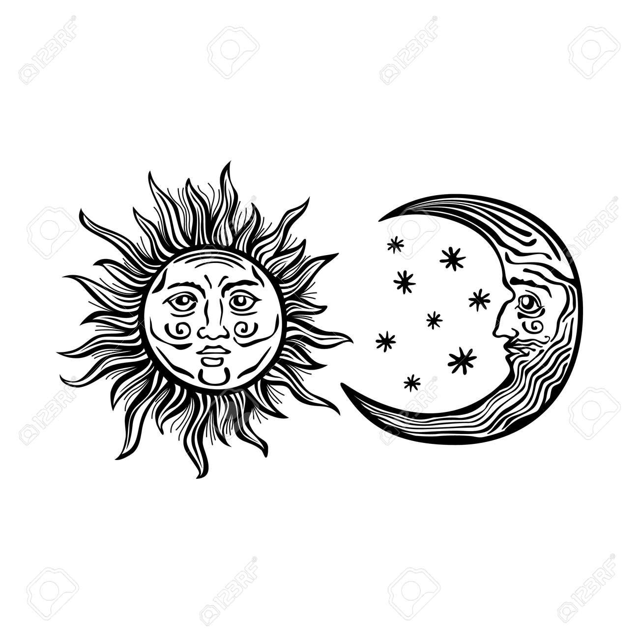 finest stunning gallery of top una ilustracin de dibujos animados al estilo de grabado de un sol with dibujos faciles uas - Dibujos Uas
